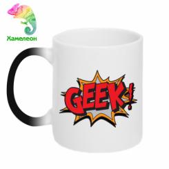 Кружка-хамелеон Geek Booom