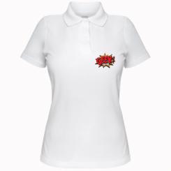 Жіноча футболка поло Geek Booom
