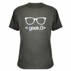 Камуфляжна футболка Geek Code