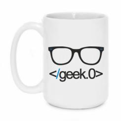 Кружка 420ml Geek Code