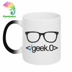Кружка-хамелеон Geek Code