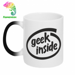 Кружка-хамелеон Geel Inside