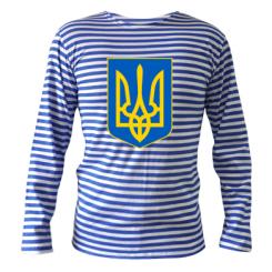 Купити Тільняшка з довгим рукавом Герб неньки-України
