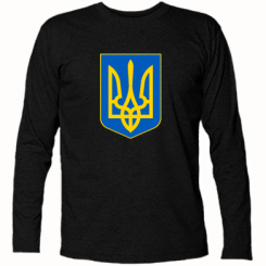 Купити Футболка з довгим рукавом Герб неньки-України