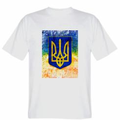 Футболка Герб України колір