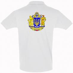 Купити Футболка Поло Герб України повнокольоровий