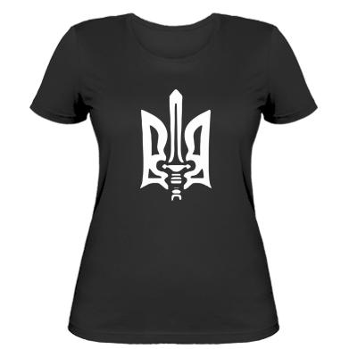 Купити Жіноча футболка Герб з мечем