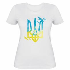 Жіноча футболка Герб з птахами