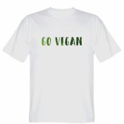 Футболка Go Vegan