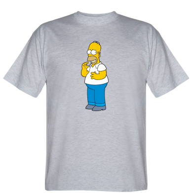Футболка Гомер щось затіяв