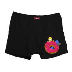 Чоловічі труси Гомер и Пончик