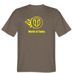 "Футболка Палаючий логотип ""World of tanks"""