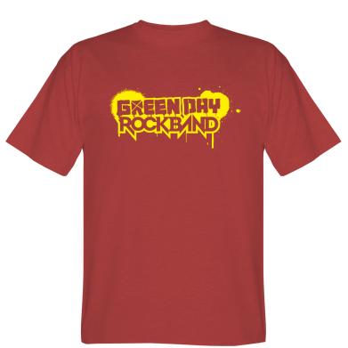 Футболка Green Day Rockband