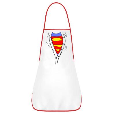 Фартуx Груди Superman
