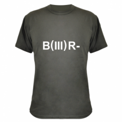 Камуфляжна футболка Група крові (3) В -