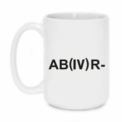 Кружка 420ml Група крові (4) АВ-