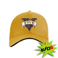 Дитяча кепка GTA 5 3D Logo