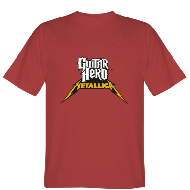 Футболка Guitar Hero Metallica