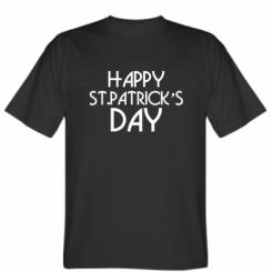 Футболка Happy St.Patrick's day