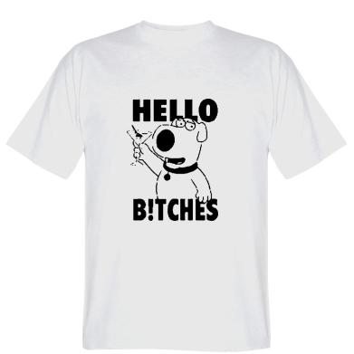 Футболка Hello bitches