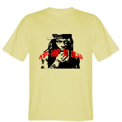 Футболка Hip Hop is dead Lil Wayne