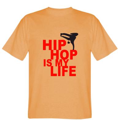Футболка Hip-hop is my life