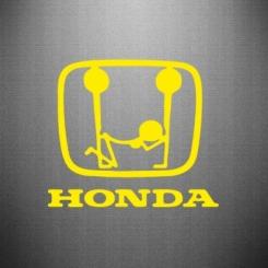 Купити Наклейка Honda