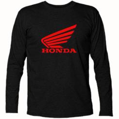 Футболка з довгим рукавом Honda