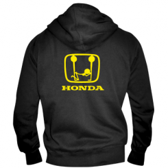 Купити Чоловіча толстовка на блискавці Honda