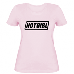 Жіноча футболка HOT GIRL