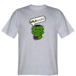 Футболка Hulk Smash!