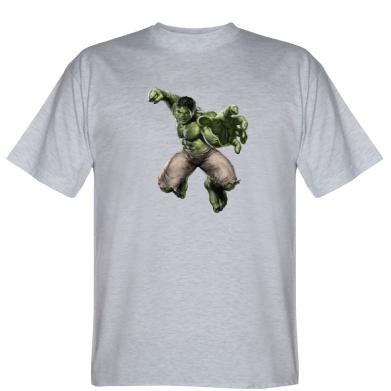 Футболка Hulk в полете