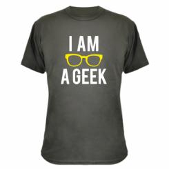 Камуфляжна футболка I am a Geek