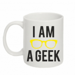 Кружка 320ml I am a Geek