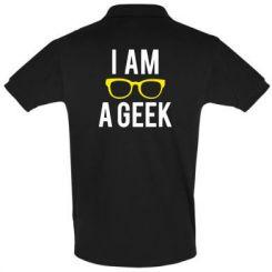 Футболка Поло I am a Geek