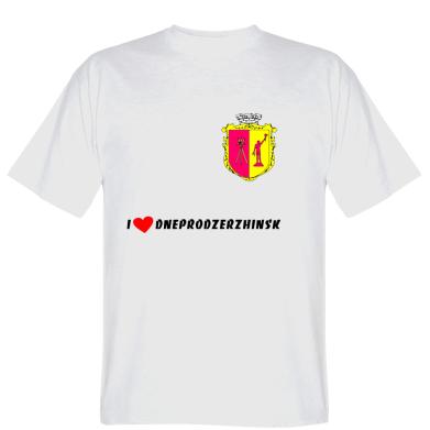 Футболка I love Dneprodzerzhinsk