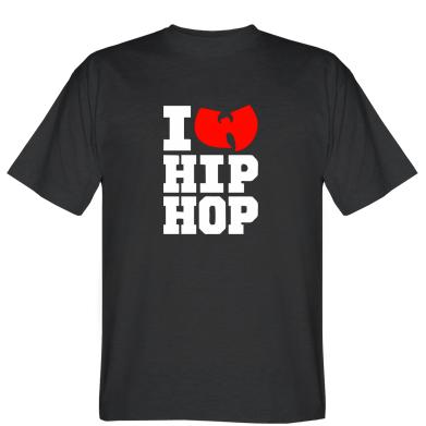 Футболка I love Hip-hop Wu-Tang