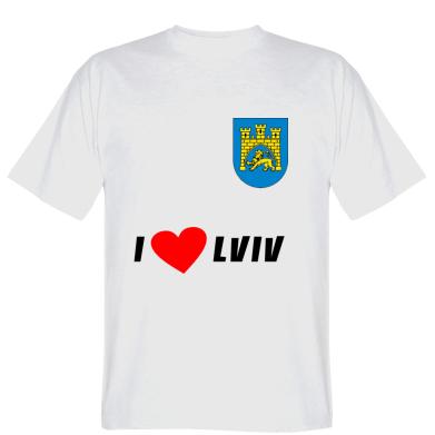 Футболка I love Lviv