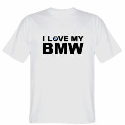 Футболка I love my BMW
