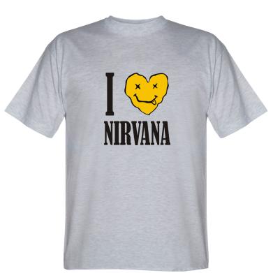 Футболка I love Nirvana