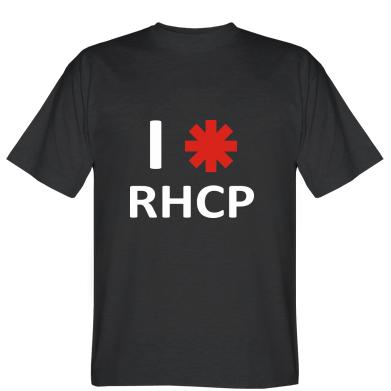 Футболка я люблю RHCP