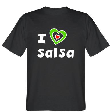 Футболка I love Salsa