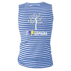 Купити Майка-тільняшка I love Ukraine дерево