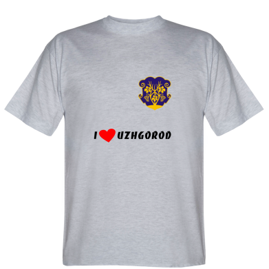 Футболка I love Uzhgorod