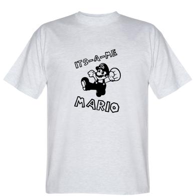 Футболка it's a me - Mario