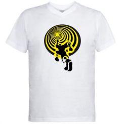 Купити Чоловічі футболки з V-подібним вирізом До мети!