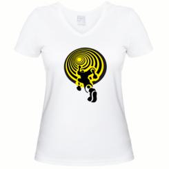 Купити Жіноча футболка з V-подібним вирізом До мети!