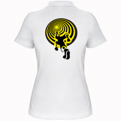 Купити Жіноча футболка поло До мети!