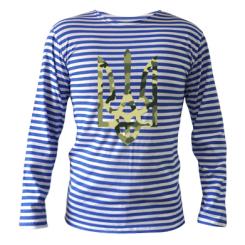 Купити Тільняшка з довгим рукавом Камуфляжний герб України