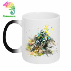 Кружка-хамелеон Kawasaki Art